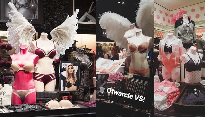 Byłyśmy na otwarciu sklepu Victoria's Secret. Jest dużo lepiej niż myślałyśmy!
