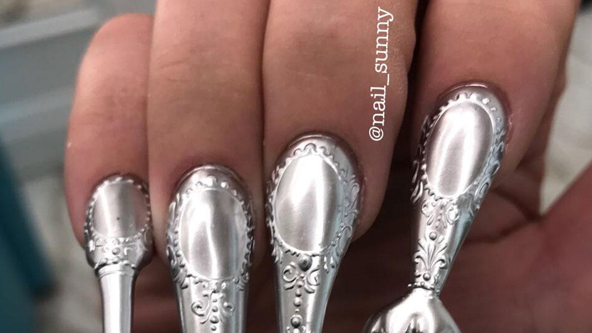 To najdziwniejszy manicure, jaki dziś zobaczysz! [VIDEO]