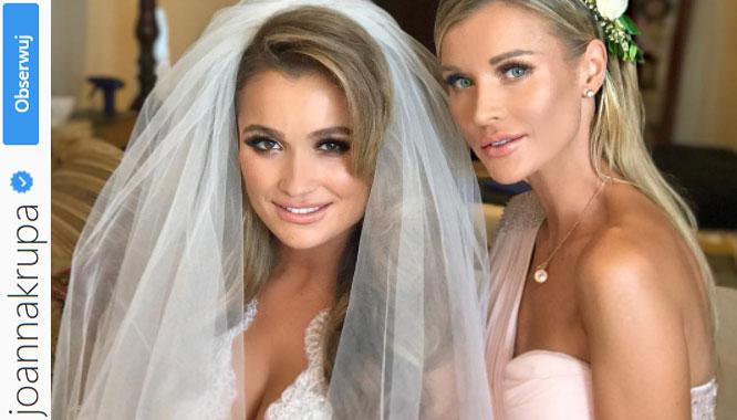 Siostra Joanny Krupy, Marta, wyszła za mąż! Zobaczcie, jak wyglądała! (FOTO)
