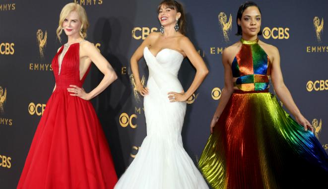 Emmy 2017: Najlepsze stylizacje gwiazd  z czerwonego dywanu (FOTO)