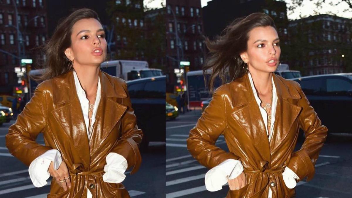 Wraca moda na długie skórzane płaszcze! Swojego możesz poszukać… w szafie mamy