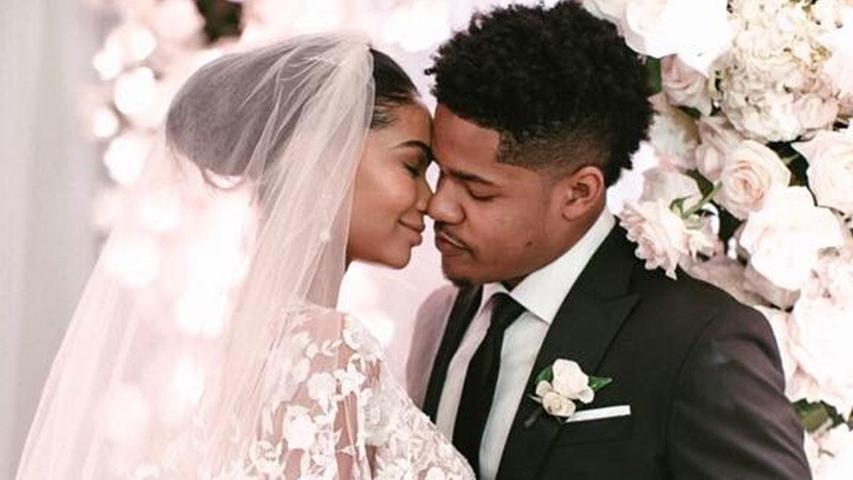 Chanel Iman wyszła za mąż! Panna Młoda wybrała suknię Zuhaira Murada (FOTO)