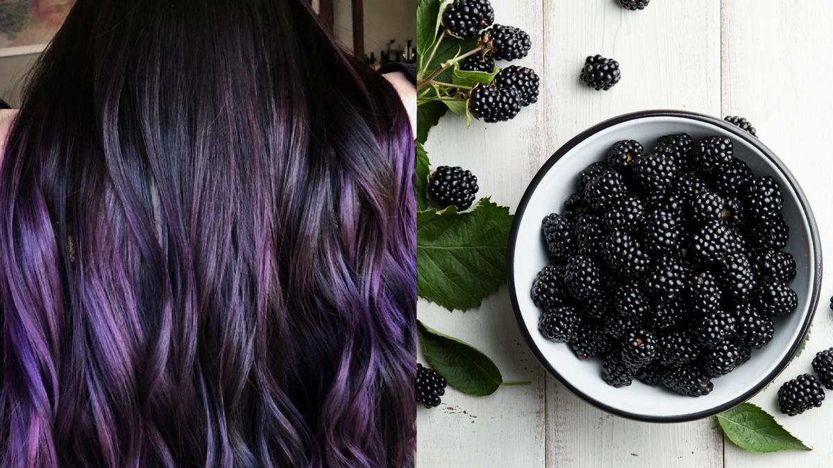 Włosy kolorze jeżyn podbijają serca Instagramowiczek