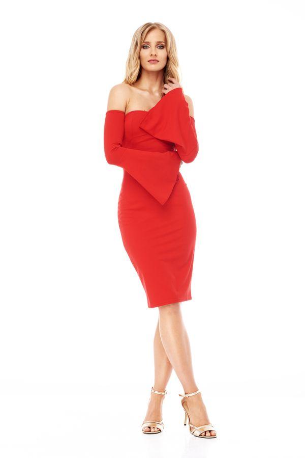 Szukasz czerwonej sukienki na wielkie wyjście? Zainspiruj się kreacją…