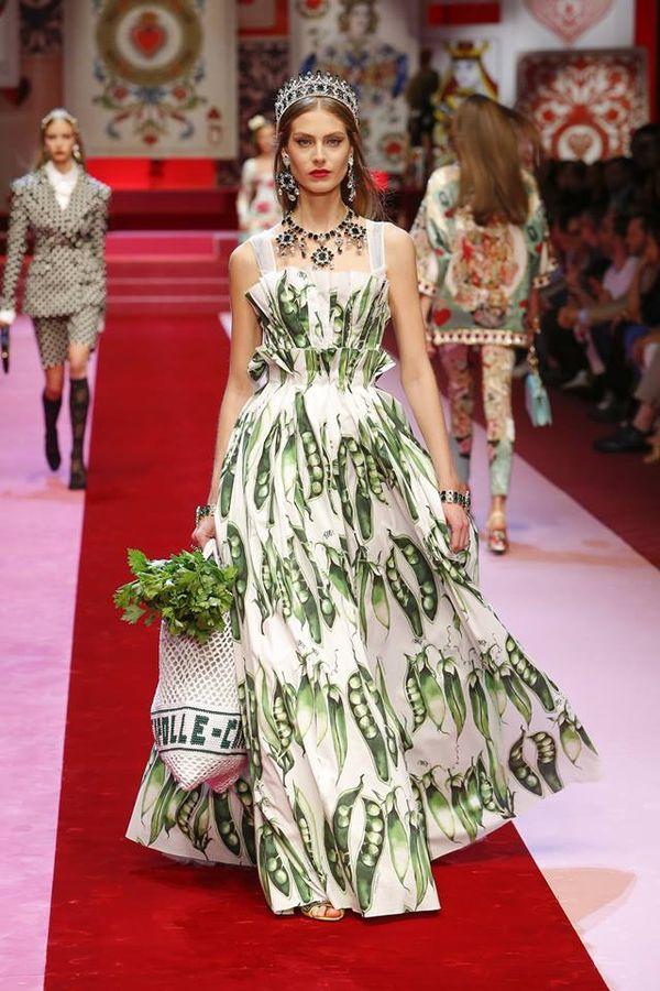 Dolce & Gabbana na wiosnę/lato 2018 - Milan Fashion Week