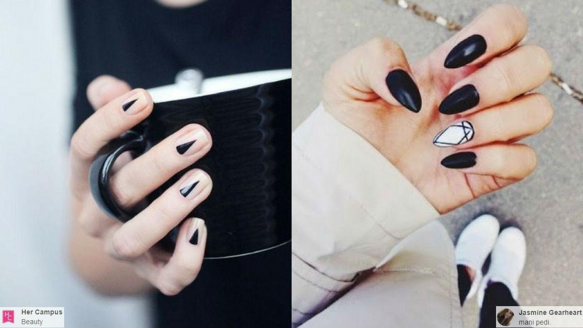 Minimalistyczny manicure- 40 najpiękniejszych inspiracji i wzorów! (FOTO)