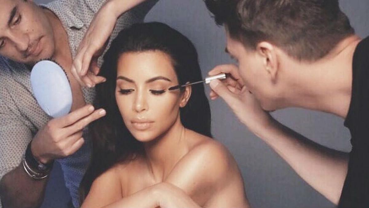 Nie uwierzycie, ile kosztuje tusz do rzęs, którego używa Kim Kardashian!
