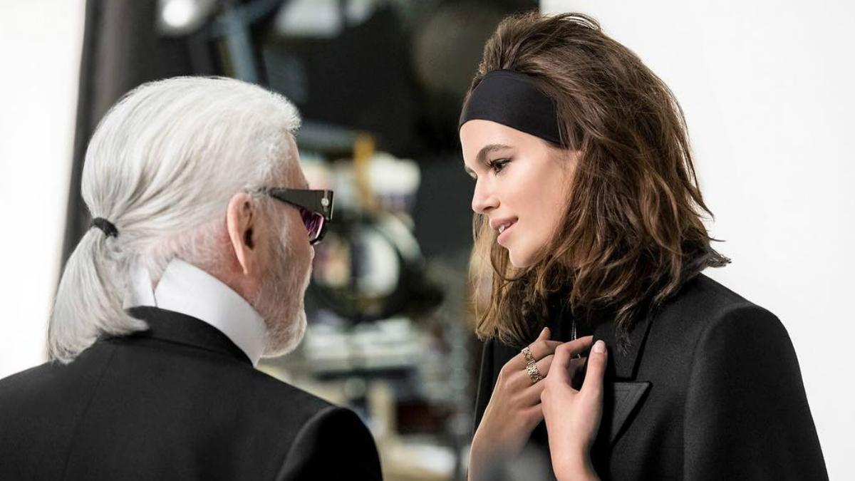 Niepokojące zdjęcia Karla Lagerfeld'a