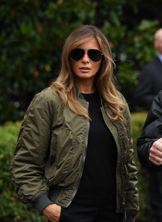 Oj, dawno nikt tak ostro nie krytykował Melanii Trump za strój... Przesadziła!