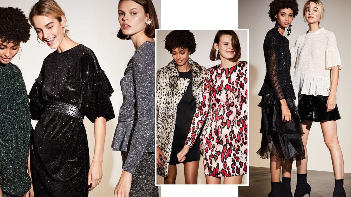 H&M Nocny blask – Mocy, wieczorowy akcent w modzie na zimę 2017