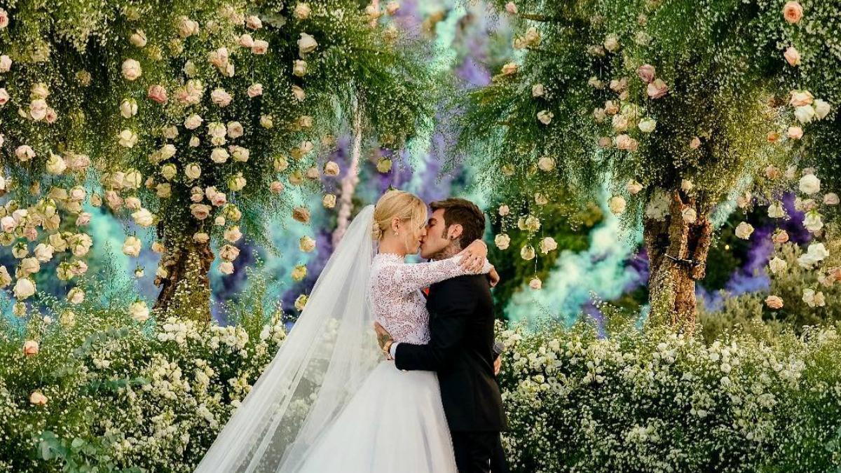 Ile kosztował ślub jak z bajki Chiary Ferragni?