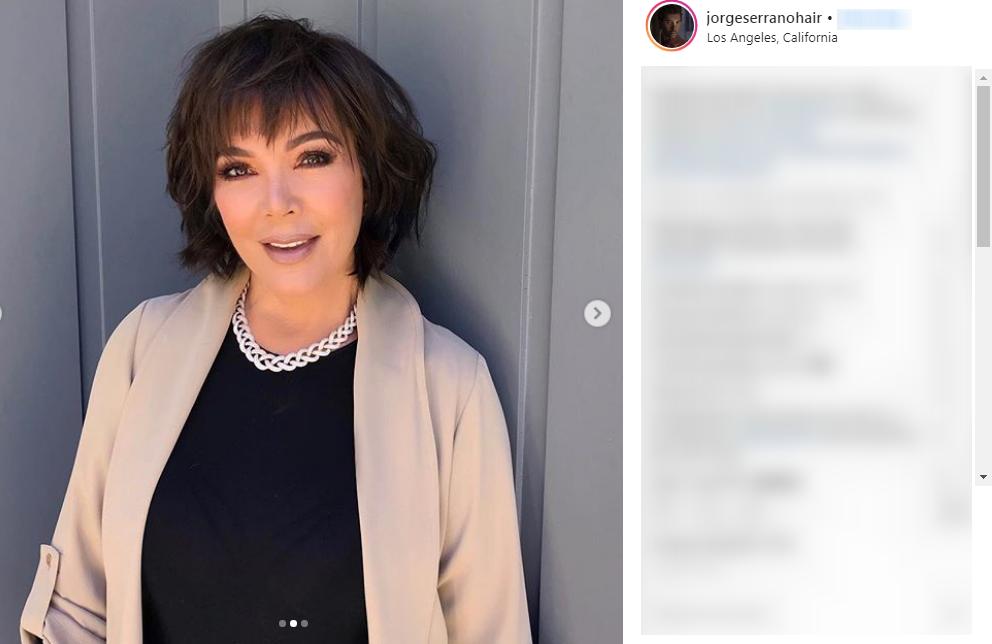 Kris Jenner przeszła metamorfozę. Znowu kopiuję jedną z córek