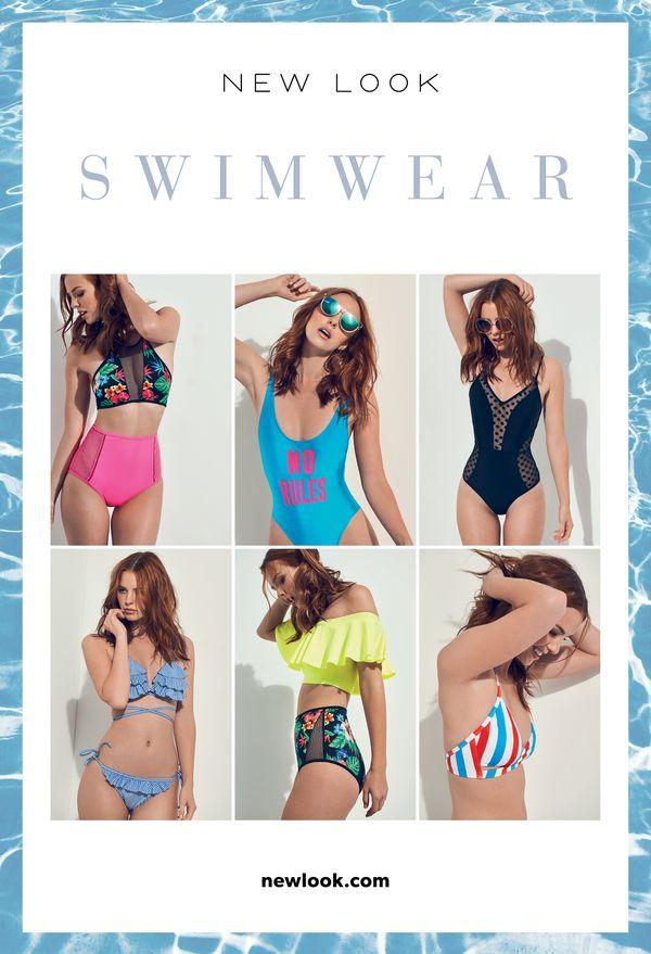 Kolorowe stroje kąpielowe na tegoroczne wakacje od New Look (FOTO)