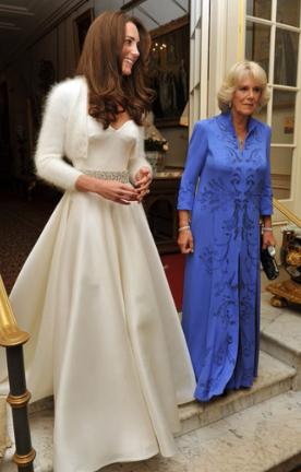 Tak wyglądała druga suknia ślubna Kate Middleton. Prawie nikt jej nie widział!