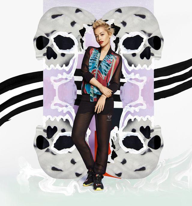 Rita Ora i jej kolejna kolekcja dla marki Adidas Originals