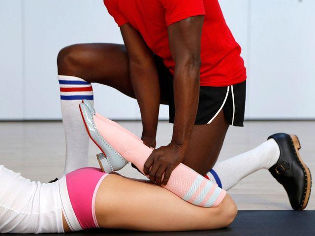 W szpilkach od Christiana Louboutinach na siłownię? (FOTO)