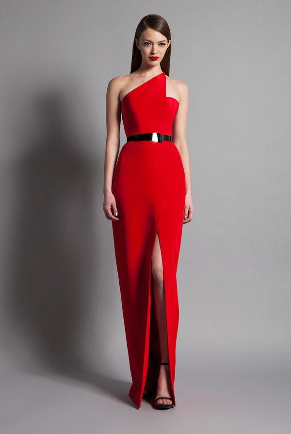 Kendall Jenner zachwyca na gali amfAR w czerwonej sukni