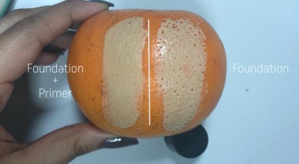 Filmik, który pokazuje jak może zmienić się makijaż dodając jeden kosmetyk
