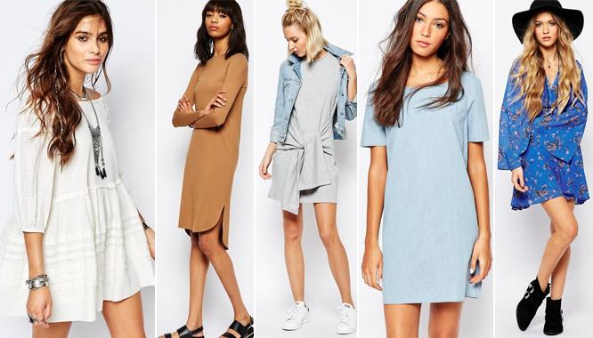 Asos - przegląd modnych sukienek na wiosnę (FOTO)
