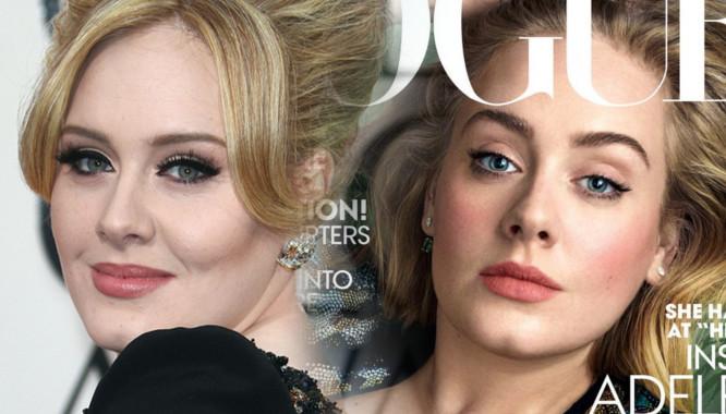 Adele zachwyca na marcowej okładce Vogue'a (FOTO)
