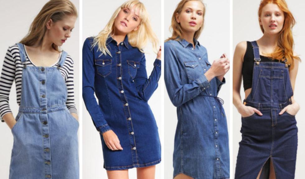 10 modnych krótkich dżinsowych sukienek na jesień 2016 | Zeberka