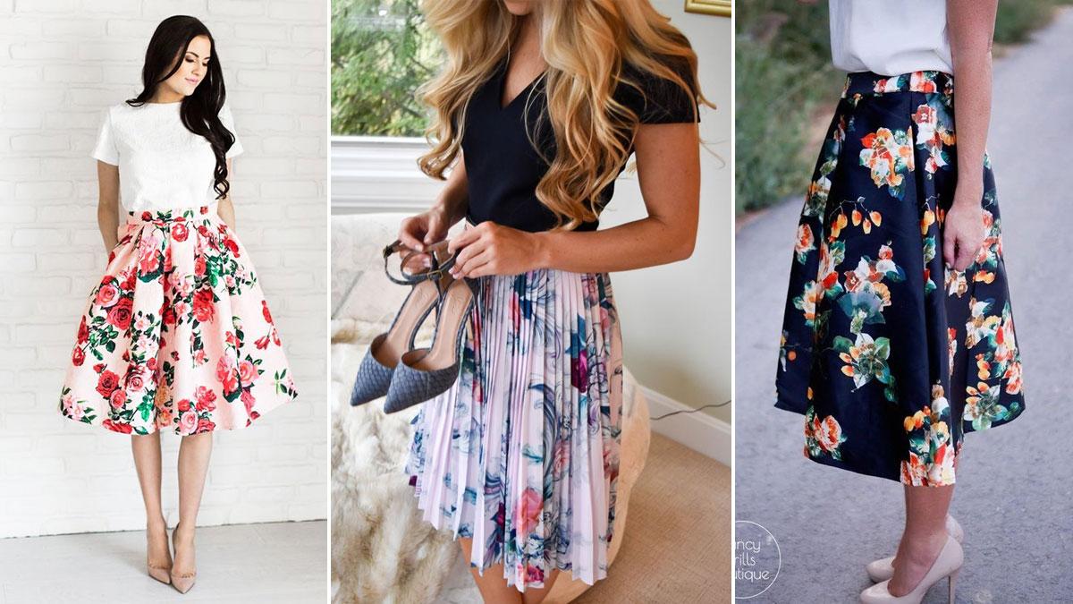 modne spódnice