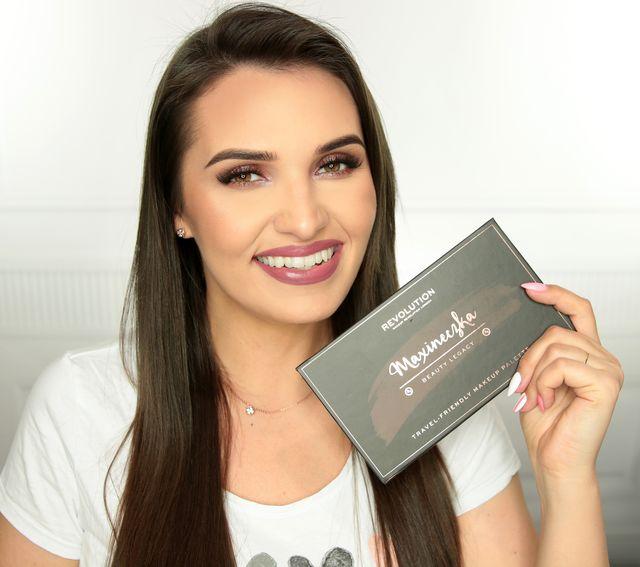 Maxineczka stworzyła własną paletę cieni do powiek razem z Makeup Revolution!