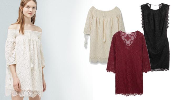 274554d263 Modne koronkowe sukienki na wiosnę i lato 2016 - Zeberka.pl