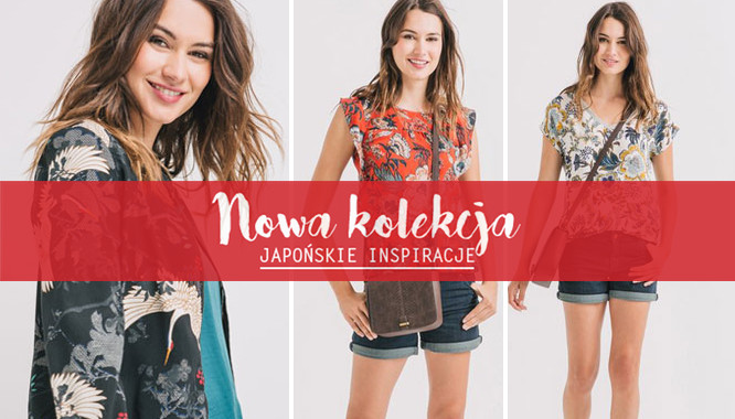 Promod Japońskie Inspiracje - Nowy katalog na jesień 2016