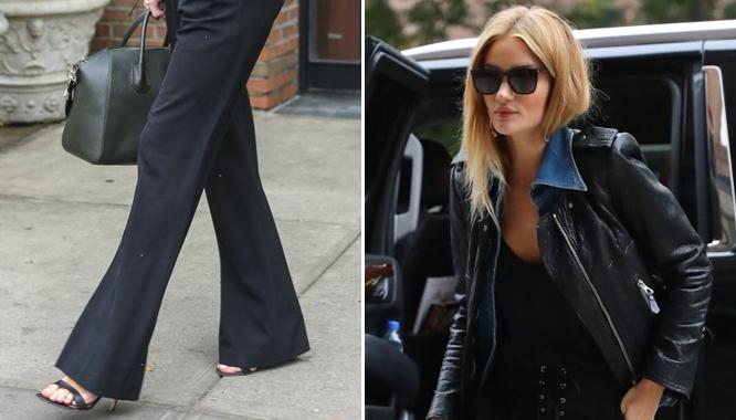 Rosie Huntington-Whiteley znowu udowadnia, że ma świetne wyczucie stylu