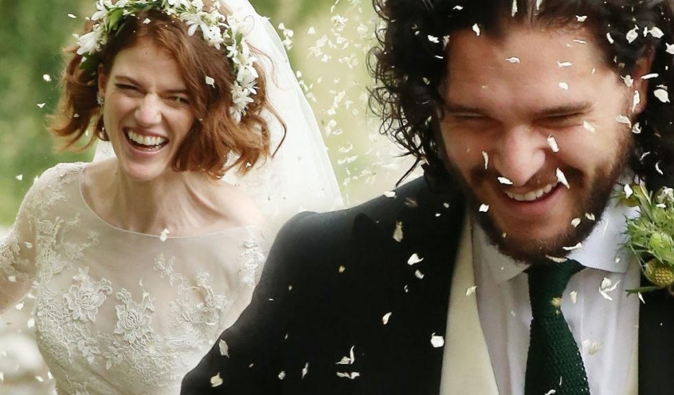 Kit Harington I Rose Leslie Wzięli ślub Mamy Zdjęcia Foto