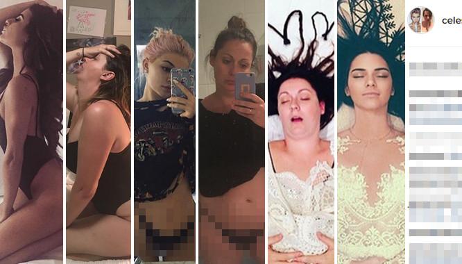 Komiczka parodiuje głupie zdjęcia z Instagramów gwiazd... Internet ją KOCHA!