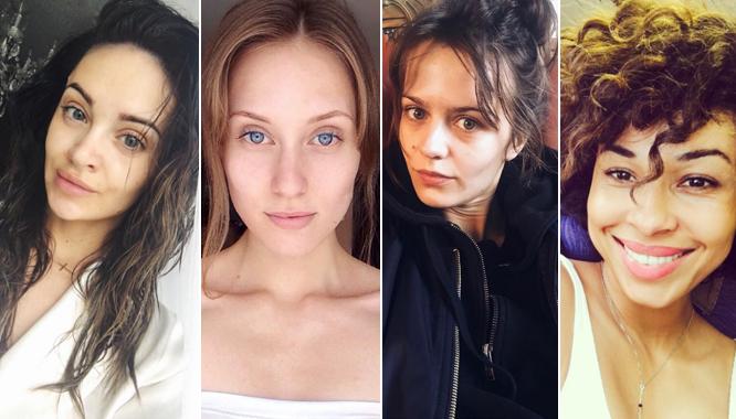 Gwiazdy i modelki zmywają makijaż w akcji #NOMAKEUPCHALLENGE!