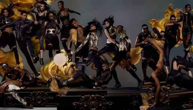 Olivier Rousteing, dyrektor kreatywny Balmain, zaprojektował dla Nike