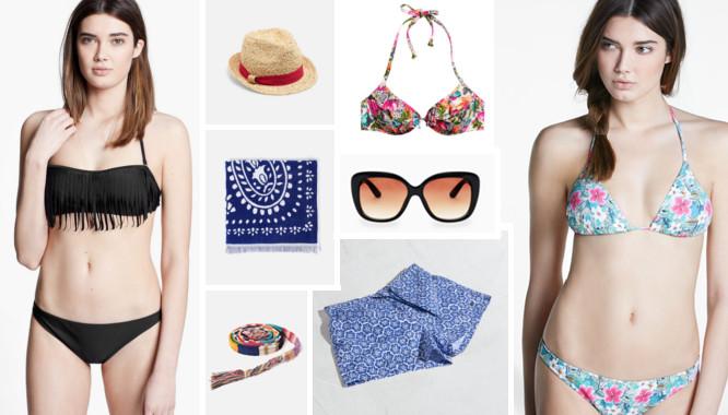 moda na plażę