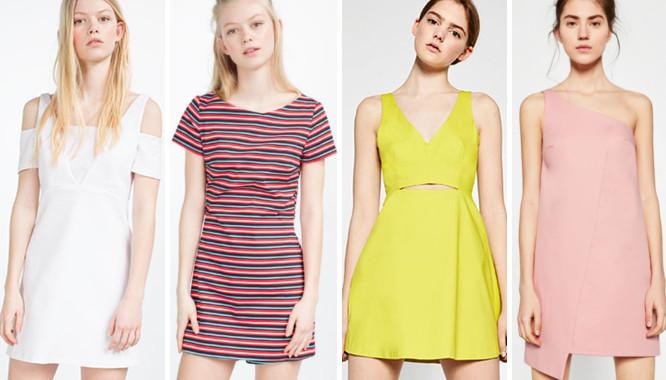 Wyprzedaż Zara TRF - 10 modnych sukienek na lato 2016