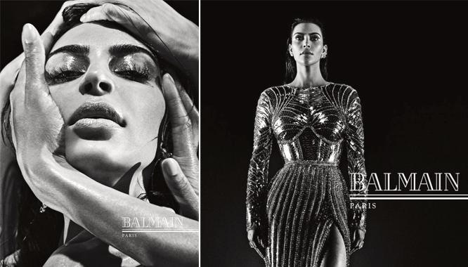 Kim Kardashian po raz kolejny w kampanii reklamowej Balmain (FOTO)