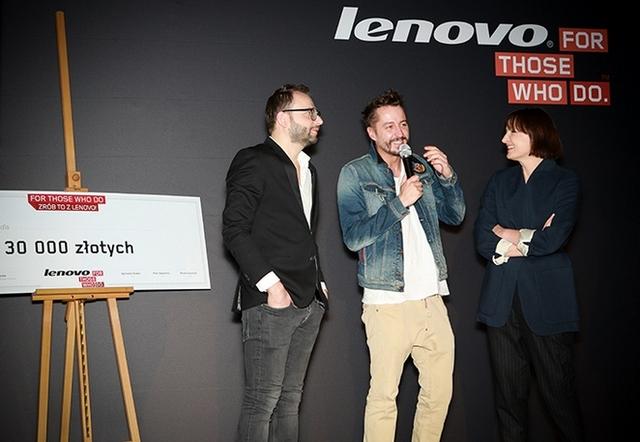 Zwycięzca konkursu ''For Those Who Do. Zrób to z Lenovo!''!