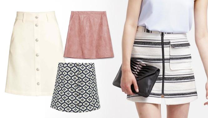 spódnice trapezowe