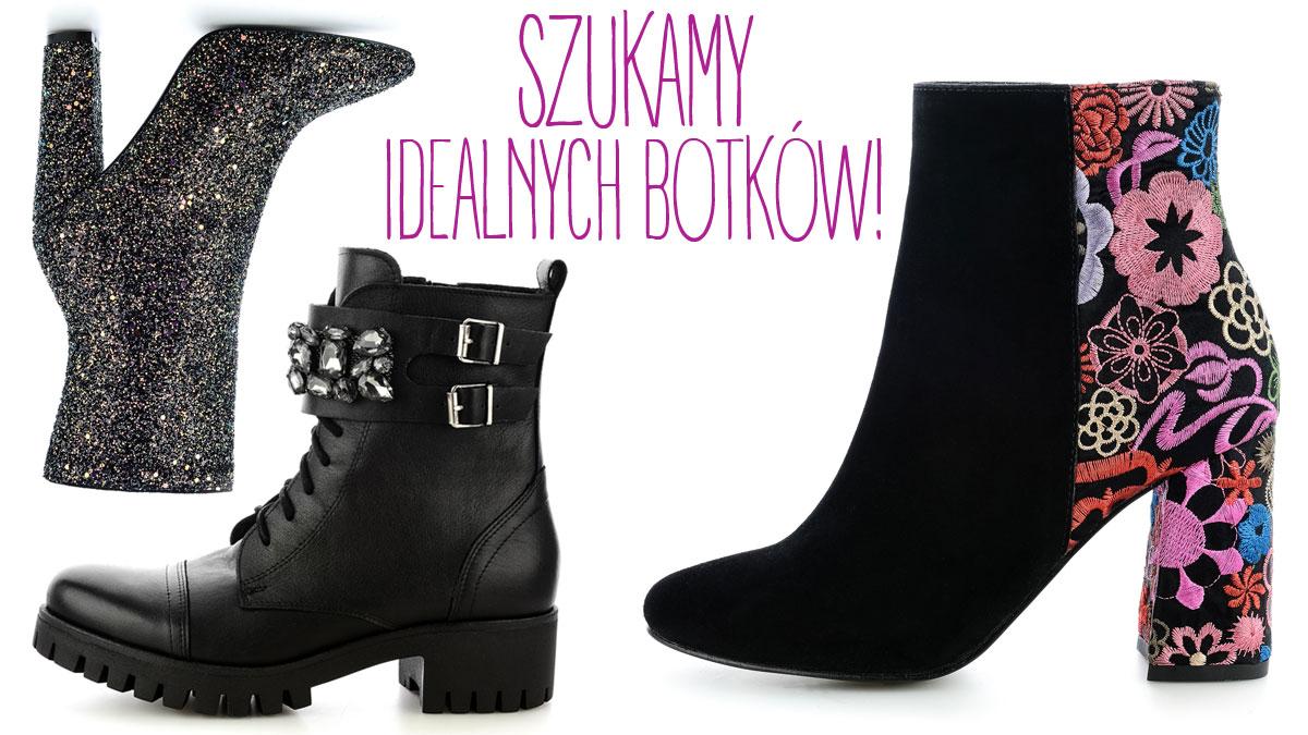 19c28d2aa0107 Modne buty jesienne 2017 - botki płaskie i botki na obcasie - Zeberka.pl