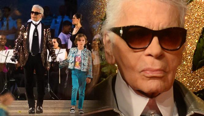 Karl Lagerfeld sam podsyca plotki o odejściu z Chanel