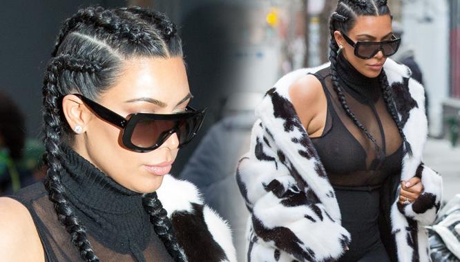 Kim Kardashian pokazała się po ciąży - MAMY ZDJĘCIA! (FOTO)