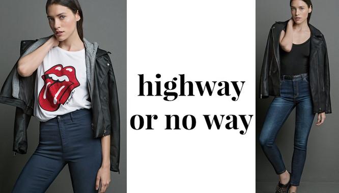 Stradivarius Highway or No Way - Dopasowane spodnie i t-shirty na jesień 2016