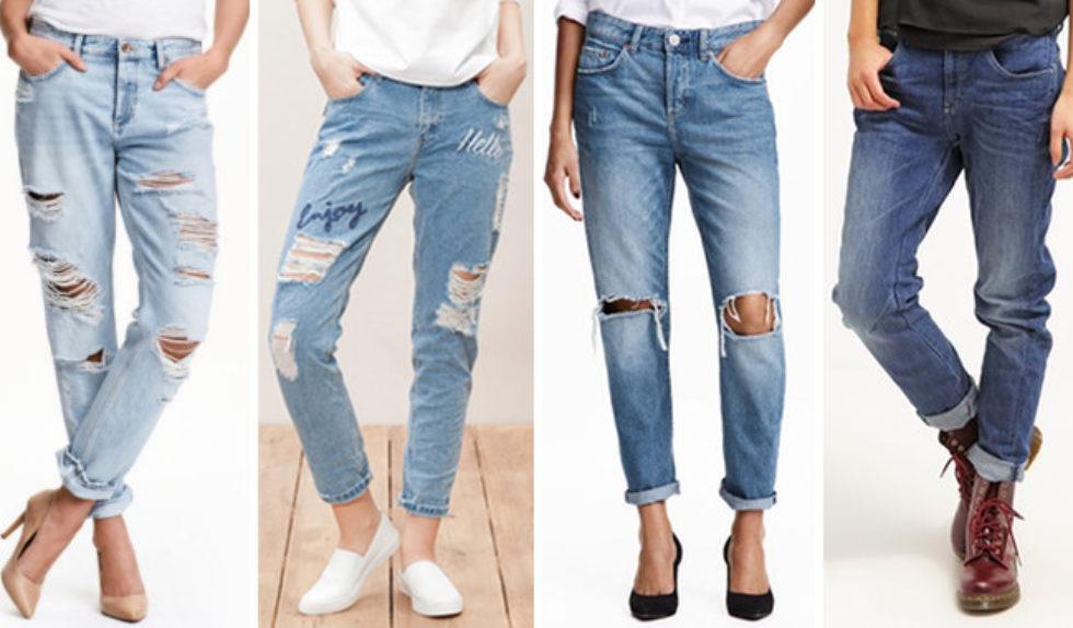 Jeansy boyfriendy Modne jeansy na wiosnę 2016 | Zeberka