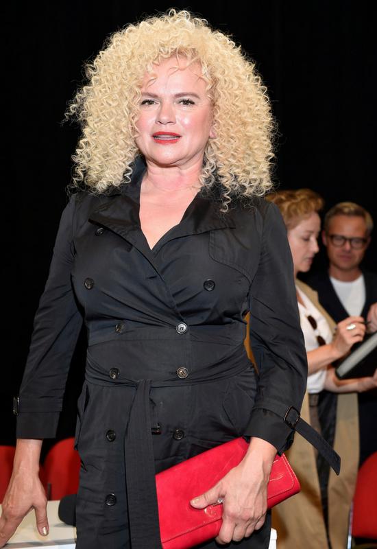 Drapieżna i seksowna. Katarzyna Figura w nowej fryzurze na Festiwalu Filmowym