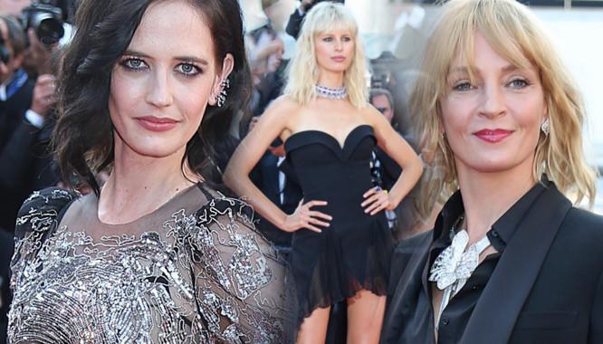 Stylizacje gwiazd z 10, 11 i 12 dnia Festiwalu Filmowego w Cannes 2017