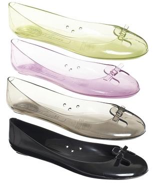 Pamiętacie sandałki z przezroczystego plastiku?
