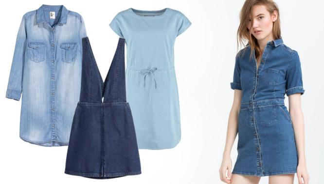 d069b02e3f Sukienki z jeansu - Must have na wiosnę 2016 - Zeberka.pl