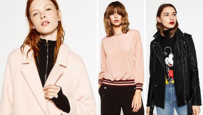 Zara Pink Glam - Różowe akcenty na jesień 2016