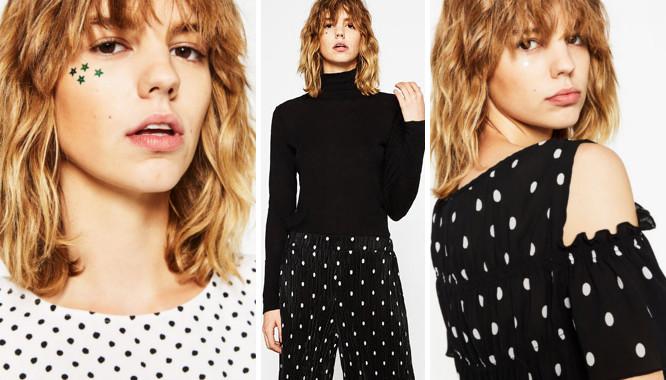 Zara Dots and Spots - Kropki i grochy w kolekcji na jesień 2016